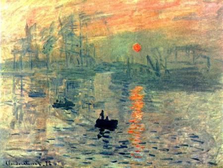 """Impresión. Sol naciente"". Claude Monet, 1873."