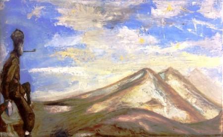 """""""Rulfo y los volcanes"""". Fernando Lezama"""