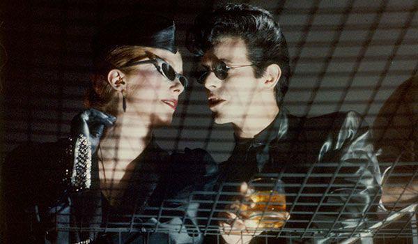 Catherine Deneuve y David Bowie en The Hunger (1983).