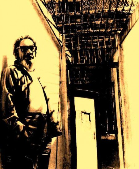 José Revueltas en Lecumberri.