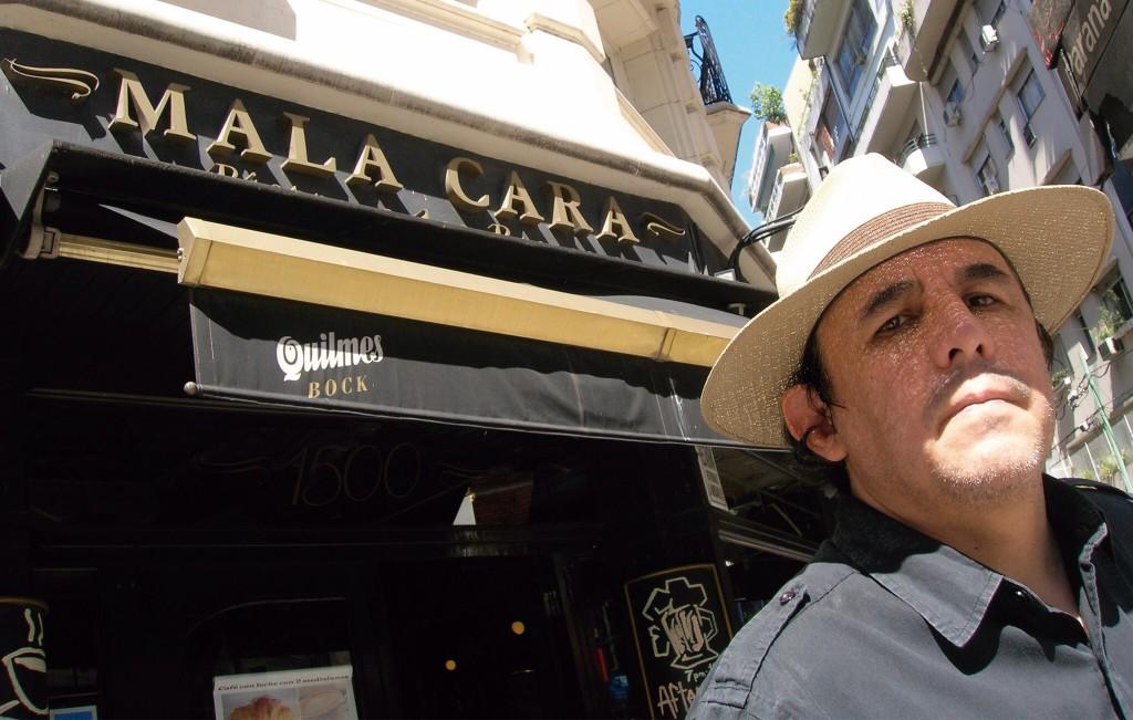 Guillermo Fadanelli. Fotografía de Yolanda Guadarrama.
